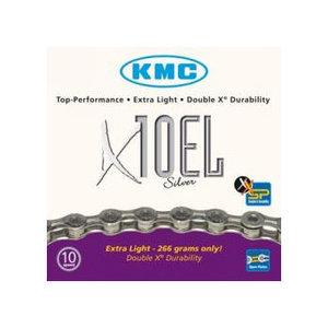 KMC X10-EL ketting 10-speed Zilver