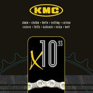 KMC X10-93 ketting 10 speed zilver/grijs