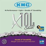 KMC X10-L ketting 10 speed zilver